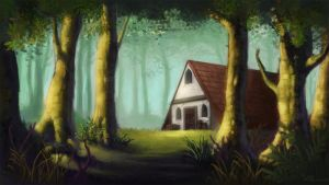Forest House by teriopi