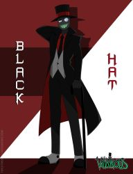 Say Hello To Mr. Evil Black Hat by FireXtremeID