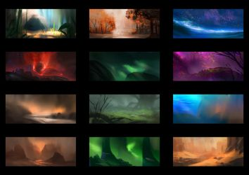 Color Thumbnails #3 by MartinBailly