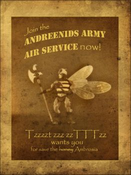 Andreenids Army Air Service by JorgeDaniel
