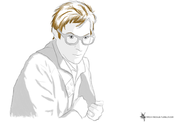 Rory in glasses by Archymedius
