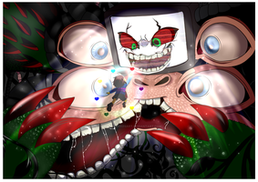 Omega Flowey - And they Came by StartistMakesArt