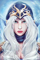 Ashe - League of Legends by trinemusen1