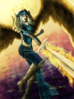 League of Legends - Kayle by TeraMaster