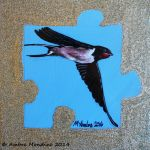Swallow by flysch
