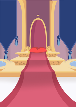 canterlot Throne Room background by MLP-Scribbles