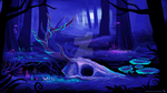 Enchanted Forest Game Concept Art