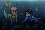 Swimming Bros. Remake-AT by Icy-Snowflakes