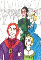 TLK The Royal Couples Color by Minos336