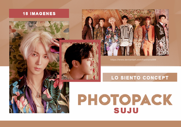 PHOTOPACK SUJU - LO SIENTO CONCEPT // HANNAK by hannavs999