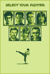 Film Fighter - Gameboy edition by wanderingstreet
