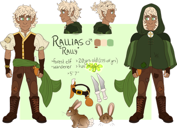 Rallias (Rally) ref 2017 by pose-y