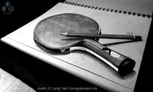 Two Obsessions - 3D DRAWING ON PAPER by Iza-nagi