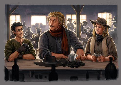 The Gunslinger Trio by Alassa