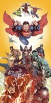 Marvel/DC: Heroes Assemble by LudoDRodriguez