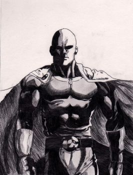 SAITAMA - Hero for fun by JasonW129