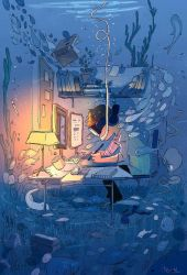 Do not disturb, Artist in the Zone! by PascalCampion