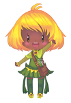 [OC] Little Chibi Sunflower by bian-ks