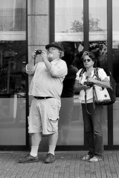 Tourists by steppeland