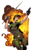 Lady Jaye by spidermanfan2099