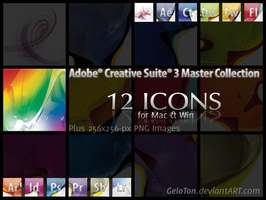 Adobe CS3 Master Coll. Icons by GeloTon