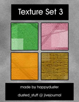 Texture Set 3 by happyduster