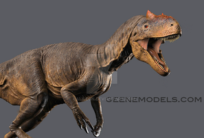 Allosaurus by GalileoN