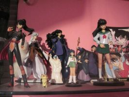 Some Of My InuYasha Figures by Kabuki-Sohma