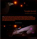 Stalcry Journal Skin: Commission by extraordi-mary