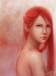 : Uzumaki Kushina : by orin