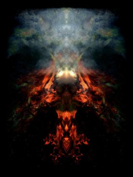 shamanic fire by feldrand