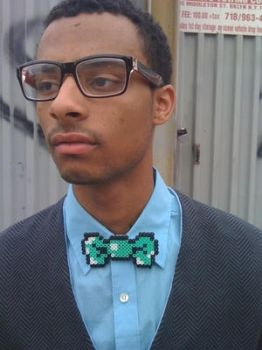 8-Bit Bow Tie by CleverTrever