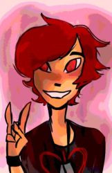Red: Peace by TheCoconutChild1