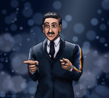 Commission - Francesco Gabbani by ErinPtah