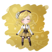 chibi Mami Tomoe by Vicky-Mionelei