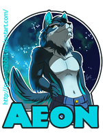 Commission - Aeon Badge by Paper-Rabbit