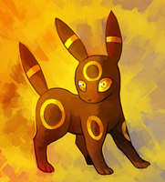 Umbreon by Dhui