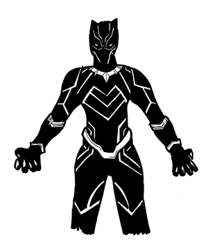 'The Black Panther Lives...' by Gojira007