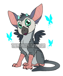 Chibi Trico by ThePhoebster