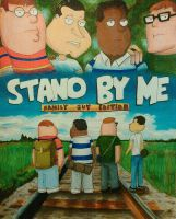 Stand By Me, Family Guy Style by magnifulouschicken