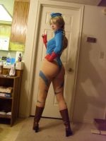 Cammy Cosplay Ikuy test 3 by TheUnbeholden