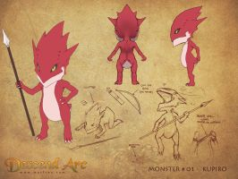Descend Arc - Monster 01 by Marfrey