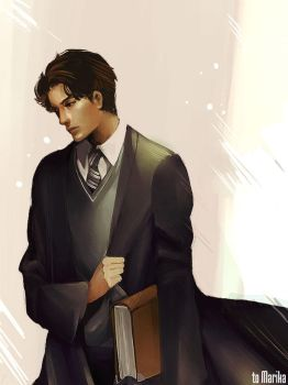Tom Riddle - to Marika by Athena-chan