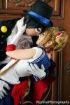 Sailor Moon and Tuxedo Mask cosplay - Love by SailorMappy