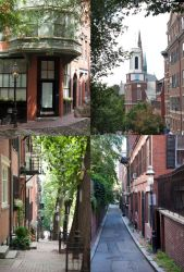 Stock cobble Stone Road and Brick Buildings set 3 by Reikantuyoi