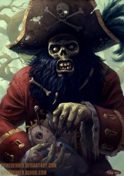 LeChuck by SpineBender