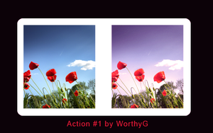Photoshop Action 01 by worthyG