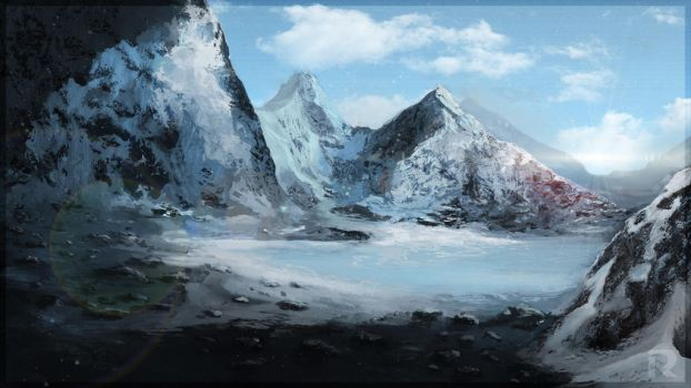 Cold mountains by Rhaegorn