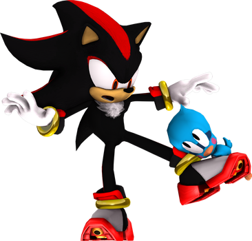 Shadow and Flicky by Luigimariogmod