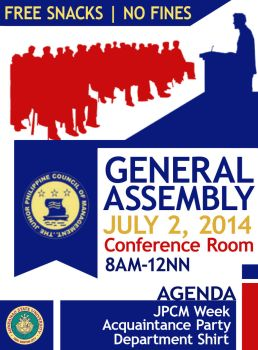 JPCM General Assembly by ArooJusco